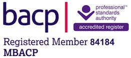 BACP registered therapist hendon logo
